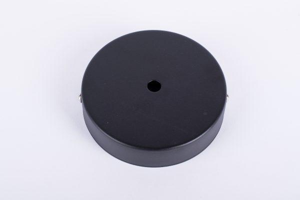 Plafondkap mat zwart